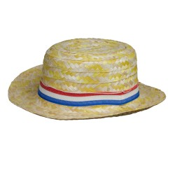 Sombrero Canotier jaspeado...
