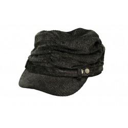 Gorra de Pana con fruncido...