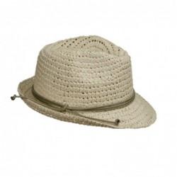 Sombrero Tirolés Crochet Beige