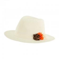 Sombrero Indiana Pompones