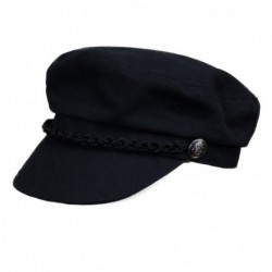 Gorra Marinera Canvas Negra