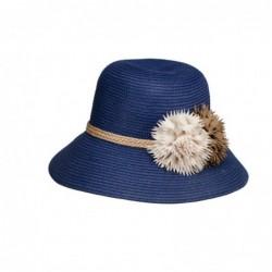 Sombrero Cloché Flores...